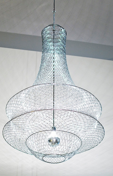 Well Known Clip On Chandeliers For A Chandelier Made With Wait For It!! Paper Clips – How Cool Is (View 10 of 10)