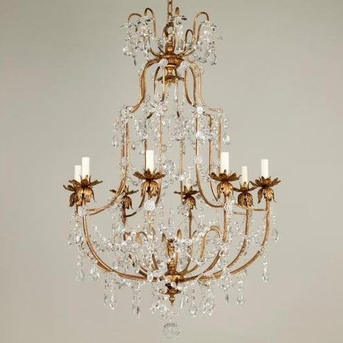 Well Known Copper Crystal Chandelier Lamp , Brass Chandelier(Id:7060541 Intended For Brass And Crystal Chandelier (View 8 of 10)