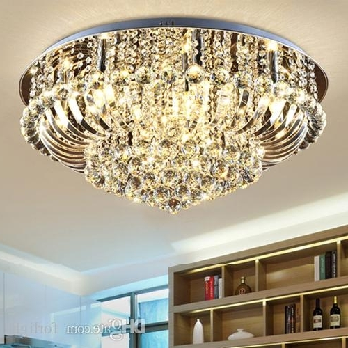 Well Known Dimmable Chandeliers Modern Design High Class K9 Crystal Chandelier In Chandelier Lights For Living Room (View 7 of 10)