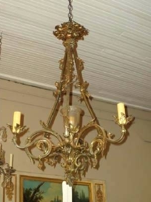 Well Known French Bronze Chandelier Intended For French Bronze Chandelier 2 Antique Gilt Bronze Xvi Style Chandelier (View 6 of 10)