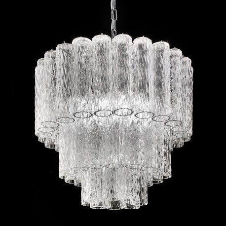 "Well Known Glass Chandelier For Tronchi"" Murano Glass Chandelier – Murano Glass Chandeliers (View 3 of 10)"