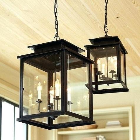 Featured Photo of Indoor Lantern Chandelier