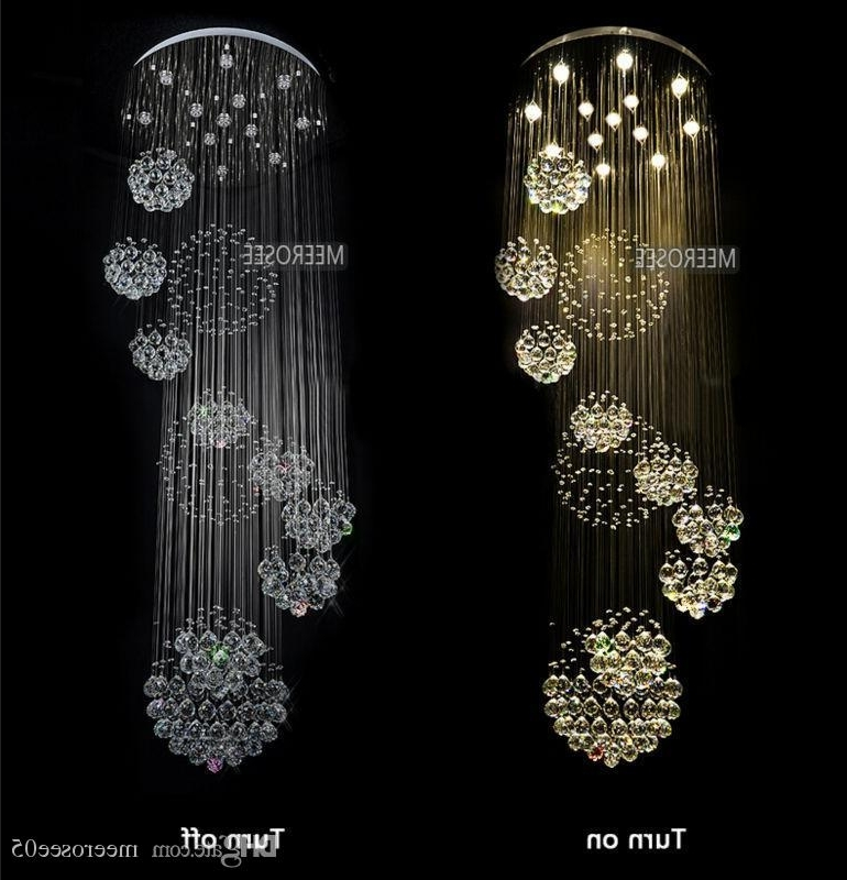 Well Known Long Modern Chandelier Inside 2015 Abajur Chandeliers Modern Chandelier Large Crystal Light (View 10 of 10)