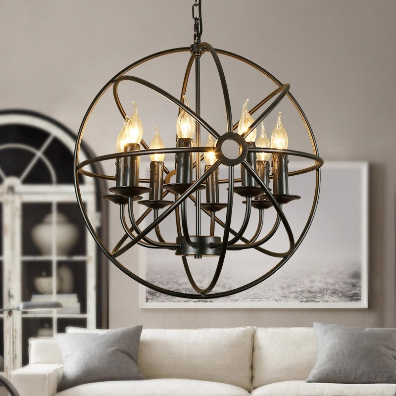 Well Known Metal Ball Candle Chandeliers Throughout Chandelier (View 10 of 10)