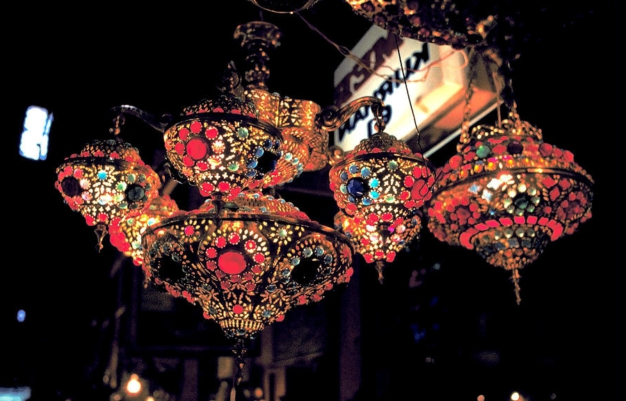 Well Known Ornate Chandeliers In Istanbul Bazaar Photographcarl Purcell Regarding Ornate Chandeliers (View 5 of 10)