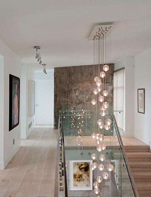 Featured Photo of Stairwell Chandelier