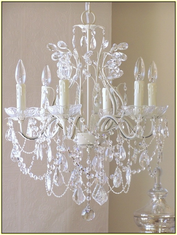 Well Known Small Shabby Chic Chandelier Regarding Perfect Shabby Chic Chandelier Design For Home Decoration Ideas (View 9 of 10)