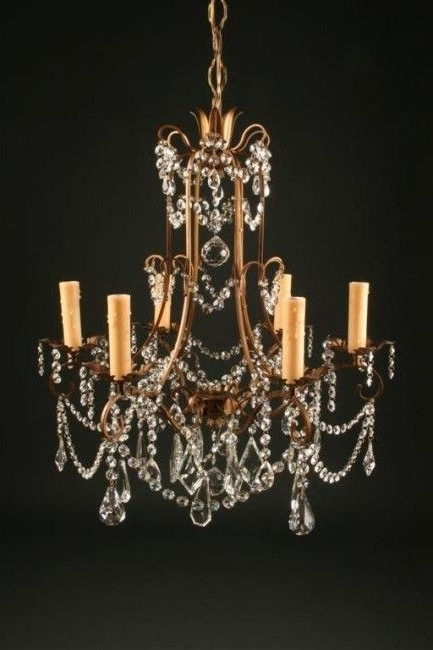 Well Known Vintage Italian Chandelier For Antique Lighting Legacy Antiques Italian Chandelier Vintage Gilded (View 5 of 10)