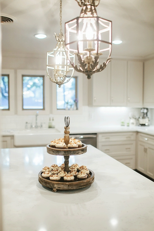 Well Known White French Chandeliers – French – Kitchen For French Country Chandeliers For Kitchen (View 5 of 10)