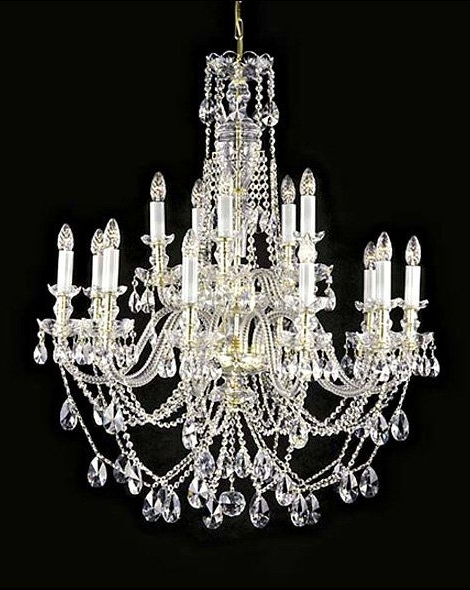 Well Liked Beautiful Large Crystal Chandelier (View 10 of 10)
