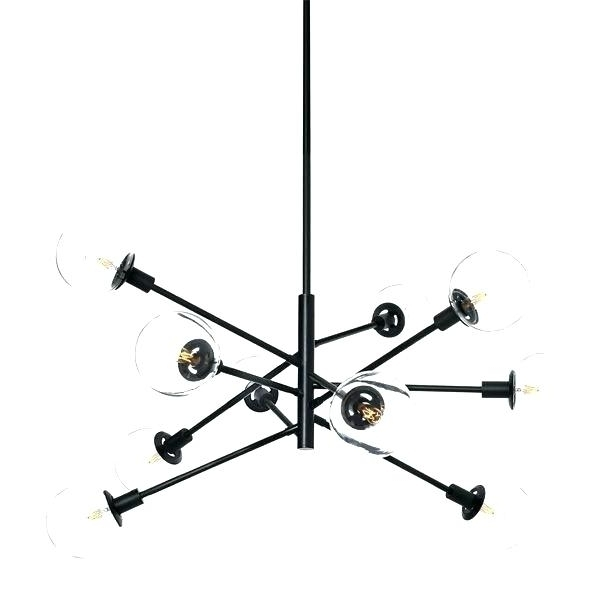 Featured Photo of Black Contemporary Chandelier