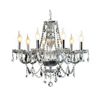 Well Liked Decor Living – Crystal – Chrome – Chandeliers – Lighting – The Home With Crystal And Chrome Chandeliers (View 10 of 10)