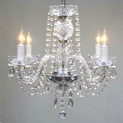 Well Liked Gallery Lighting 275 4 4 Light Crystal Chandelier – Homeclick In 4 Light Crystal Chandeliers (View 10 of 10)