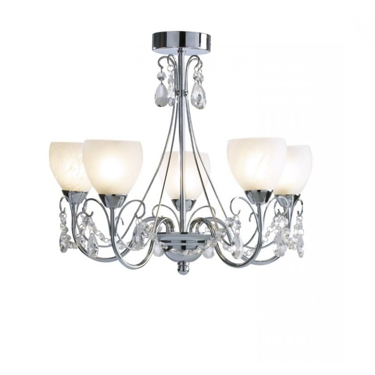 Well Liked Low Ceiling Chandeliers Pertaining To Crawford Low Ceiling Chandelier – Cotterell & Co (View 10 of 10)