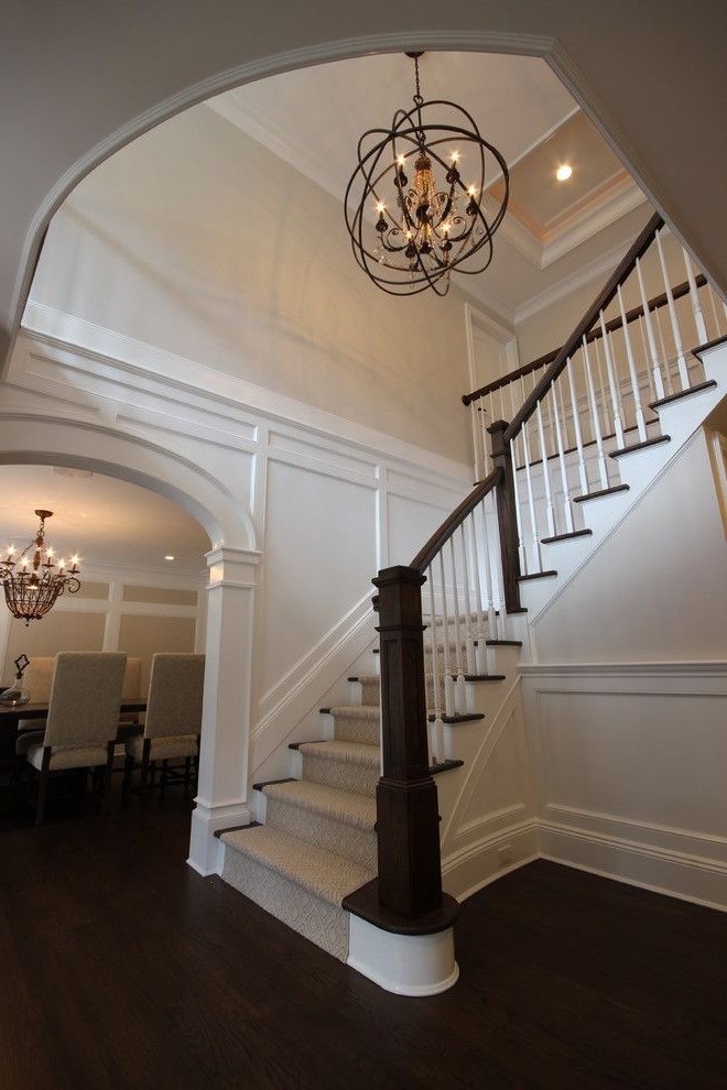 "Well Liked Stairway Chandeliers Pertaining To P>image By: <a Href=""http://www.michellewinickdesign"" Rel (Gallery 7 of 10)"