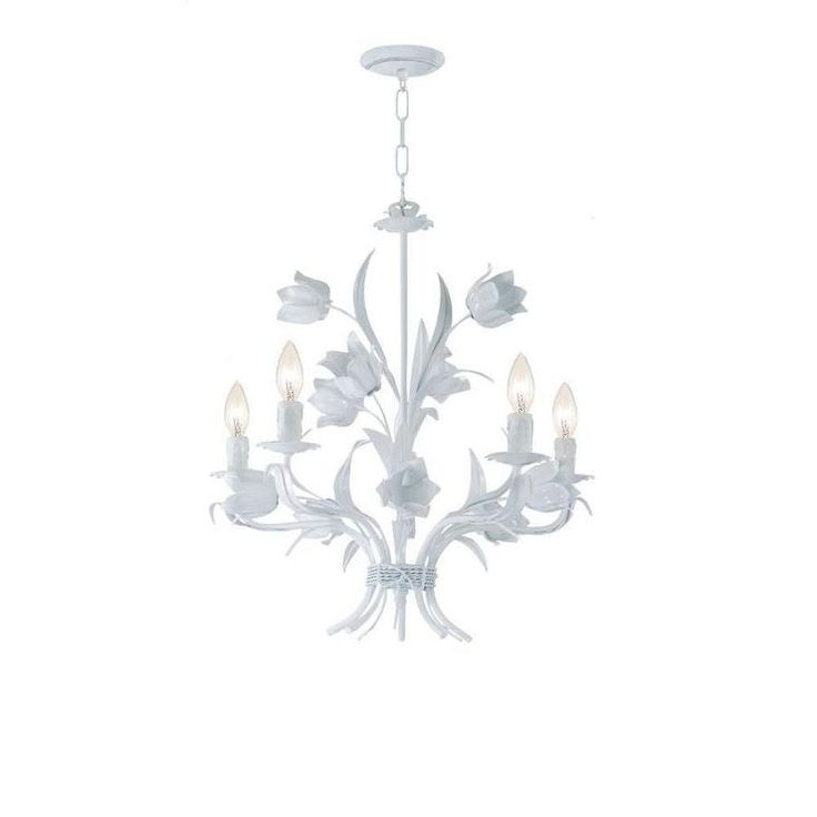 Featured Photo of Small White Chandeliers