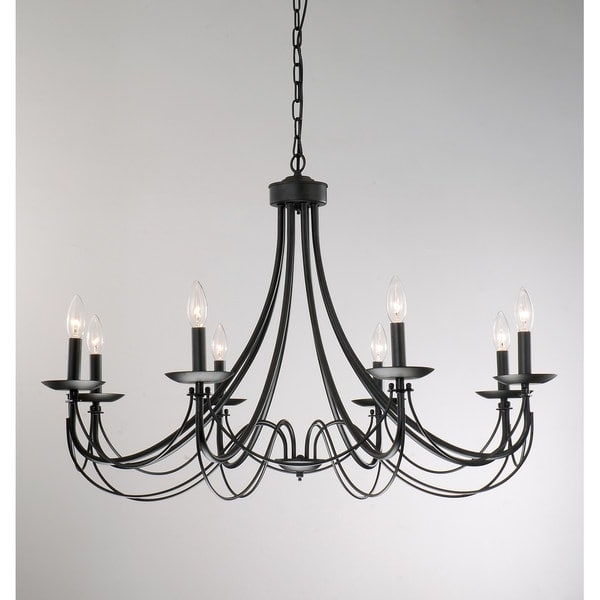 Featured Photo of Black Chandelier
