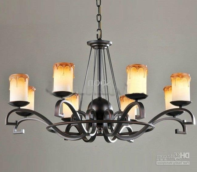 Widely Used Black Iron Chandeliers With Black Wrought Iron Chandelier Lighting Roselawnlutheran For (View 10 of 10)