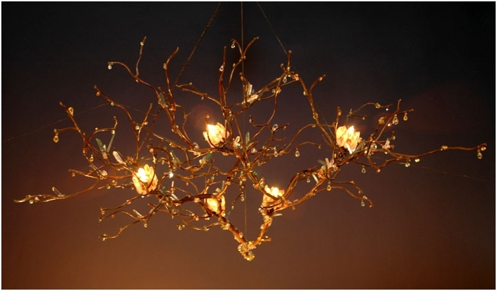 Widely Used Branch Chandeliers For Floating Branch Chandelier (View 10 of 10)