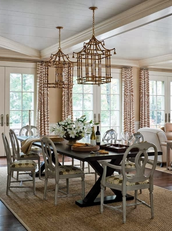 Widely Used Chinoiserie Chandeliers Regarding Dining Room Chandeliers – Dining Room Sets (View 10 of 10)