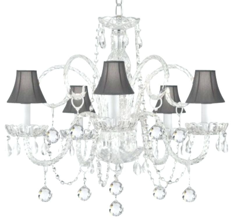 Widely Used Crystal Chandelier With Black Shade As Well As The Gallery Crystal Inside Crystal Chandeliers With Shades (View 10 of 10)