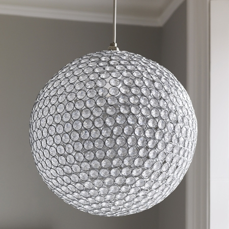 Widely Used Elegant Crystal Globe Chandelier For Design Home Interior Ideas Pertaining To Crystal Globe Chandelier (View 6 of 10)