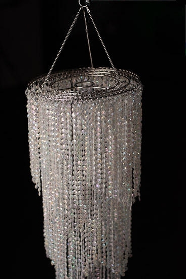 Widely Used Faux Crystal Chandeliers Regarding Simply Elegant Faux Crystal Decorative Chandelier – Centerpiece (View 5 of 10)