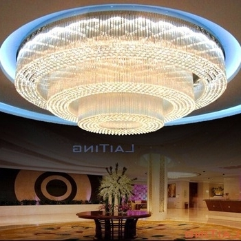 Widely Used Hotel Chandelier With Hotel Big Luxury Banquet Hall Ceiling Chandelier Light, View Banquet (View 3 of 10)