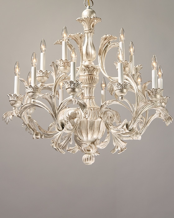 Widely Used Italian Chandelier Style Intended For Carved Wood Chandelier – 18Th Century Italian Style Carved Wood (View 10 of 10)
