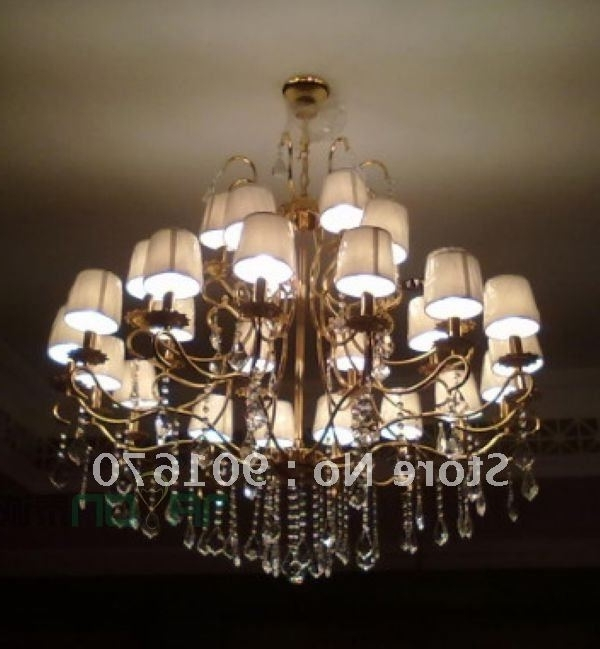 Featured Photo of Lampshade Chandeliers