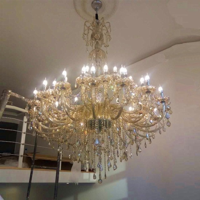Widely Used Large Chandelier For Living Room Modern Crystal Chandeliers Large Intended For Large Chandeliers (View 10 of 10)