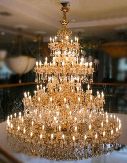 Widely Used Large Crystal Chandeliers For Hospitaliy Public Areas(id:3061359 In Huge Crystal Chandelier (View 7 of 10)
