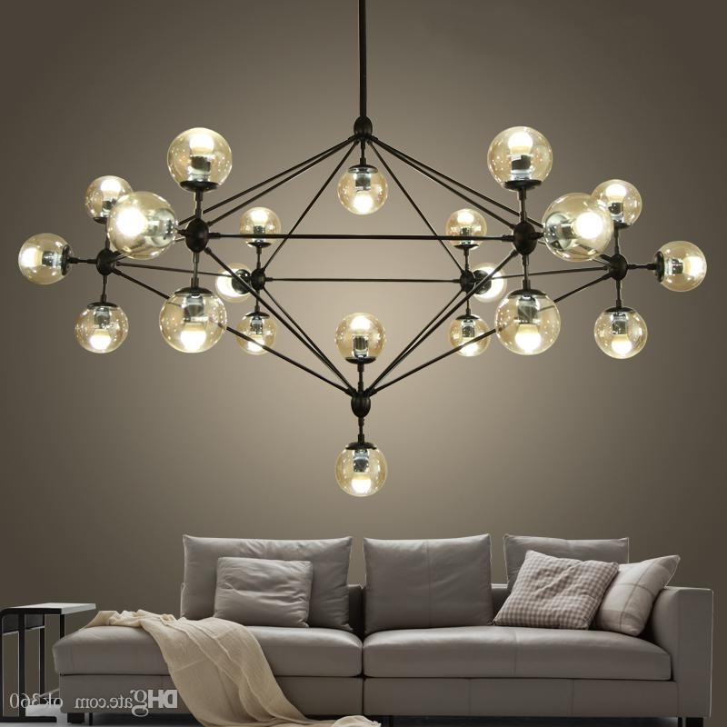 Widely Used Modern Glass Chandeliers Designer Jason Miller Modo Chandelier With Modern Glass Chandeliers (View 2 of 10)