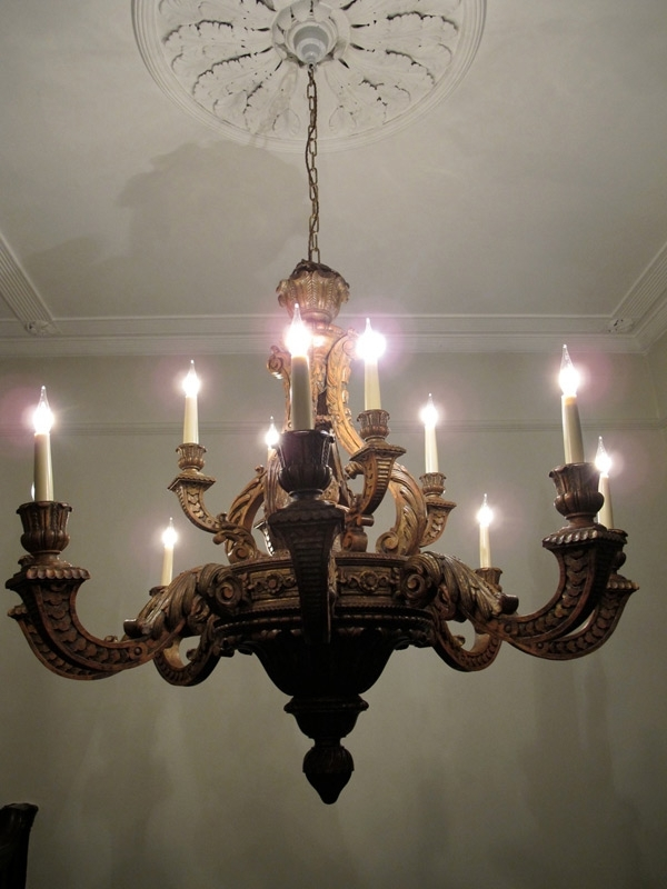 Widely Used Outstanding Carved Limewood Georgian Style Chandelier – Ceiling With Regard To Georgian Chandeliers (View 10 of 10)