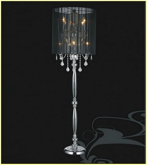 Widely Used Standing Chandelier Floor Lamp 17 Tempts To Catch The Drift For Pertaining To Standing Chandeliers (View 9 of 10)