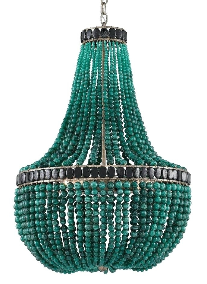 Widely Used Turquoise Empire Chandeliers With Regard To Turquoise Chandelier Chandeliers Turquoise Chandelier P La (View 10 of 10)