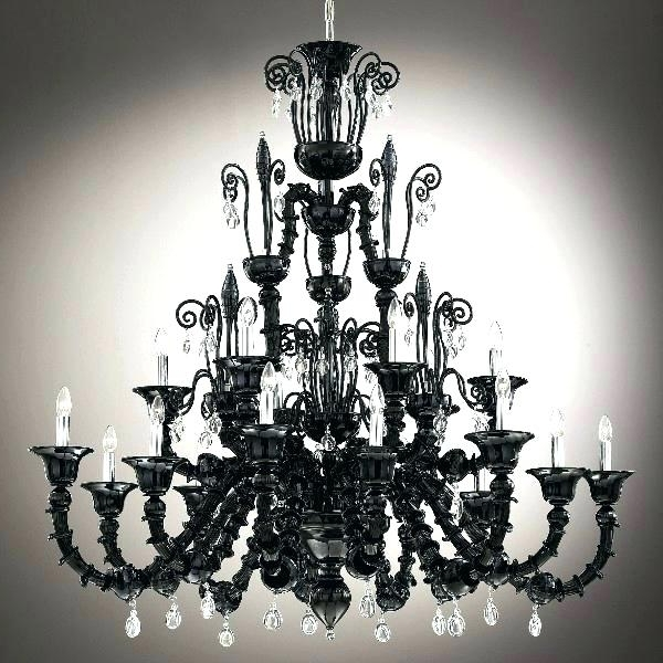 Widely Used Vintage Black Chandelier Iron – Boscocafe For Vintage Black Chandelier (View 10 of 10)