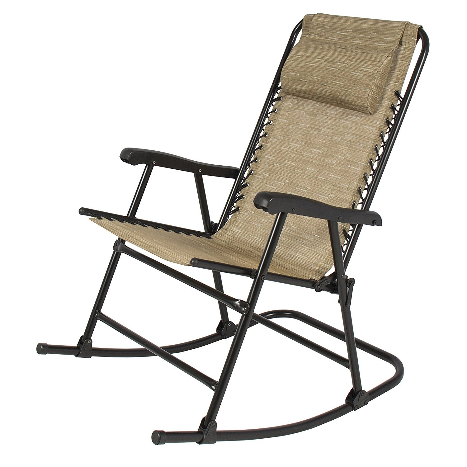 2017 Aluminum Patio Rocking Chairs Inside Chairs: Fancy Outdoor Rocking Chair For Your Outdoor Space (View 3 of 15)