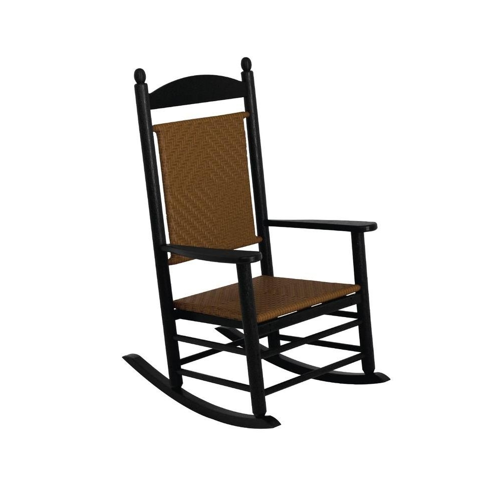 2017 Rocking Chairs – Patio Chairs – The Home Depot Intended For Outdoor Vinyl Rocking Chairs (View 2 of 15)