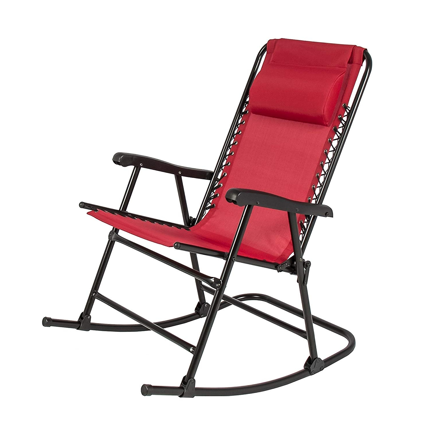 2018 Folding Rocking Chairs In Amazon : Best Choice Products Folding Rocking Chair Foldable (View 1 of 15)