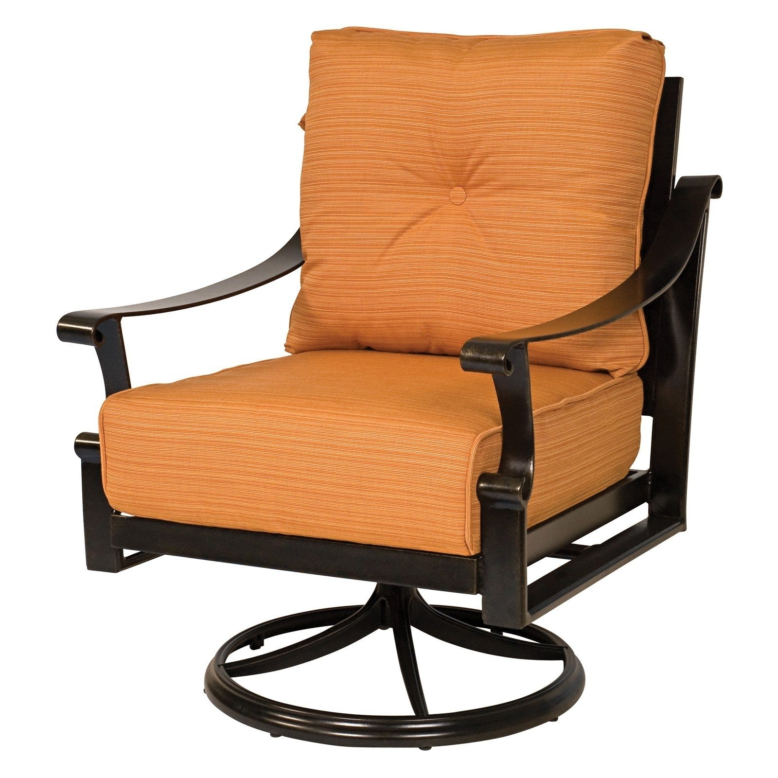 Amazing Of Swivel Rocking Patio Chairs Swivel Rocker Patio Furniture Pertaining To Most Up To Date Patio Rocking Chairs With Covers (View 10 of 15)