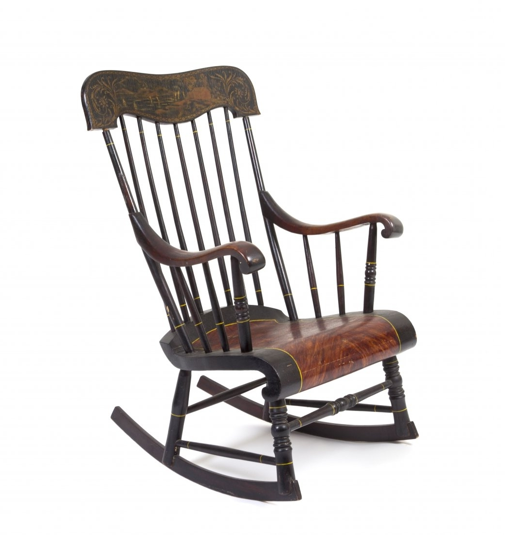 Amazing Old Fashioned Rocking Chair With Regard Antique Chairs With Famous Vintage Outdoor Rocking Chairs (View 1 of 15)