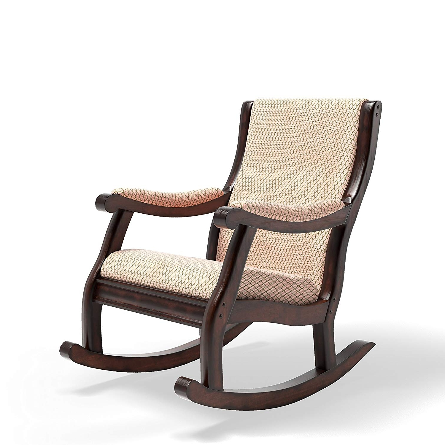 Amazon Rocking Chairs Inside Preferred Amazon: Furniture Of America Betty Rocking Chair, Antique Oak (View 3 of 15)