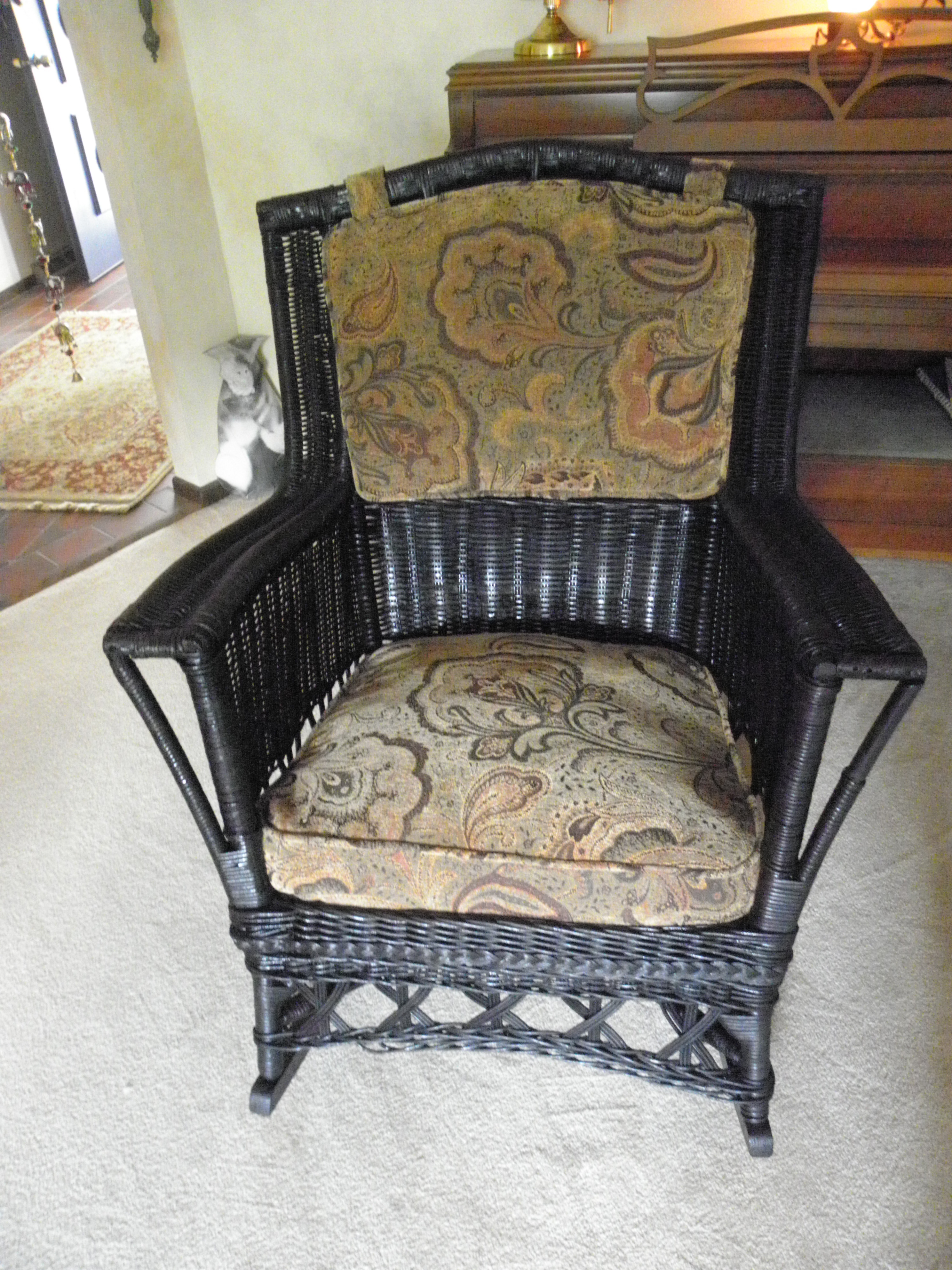 Featured Photo of Antique Wicker Rocking Chairs With Springs