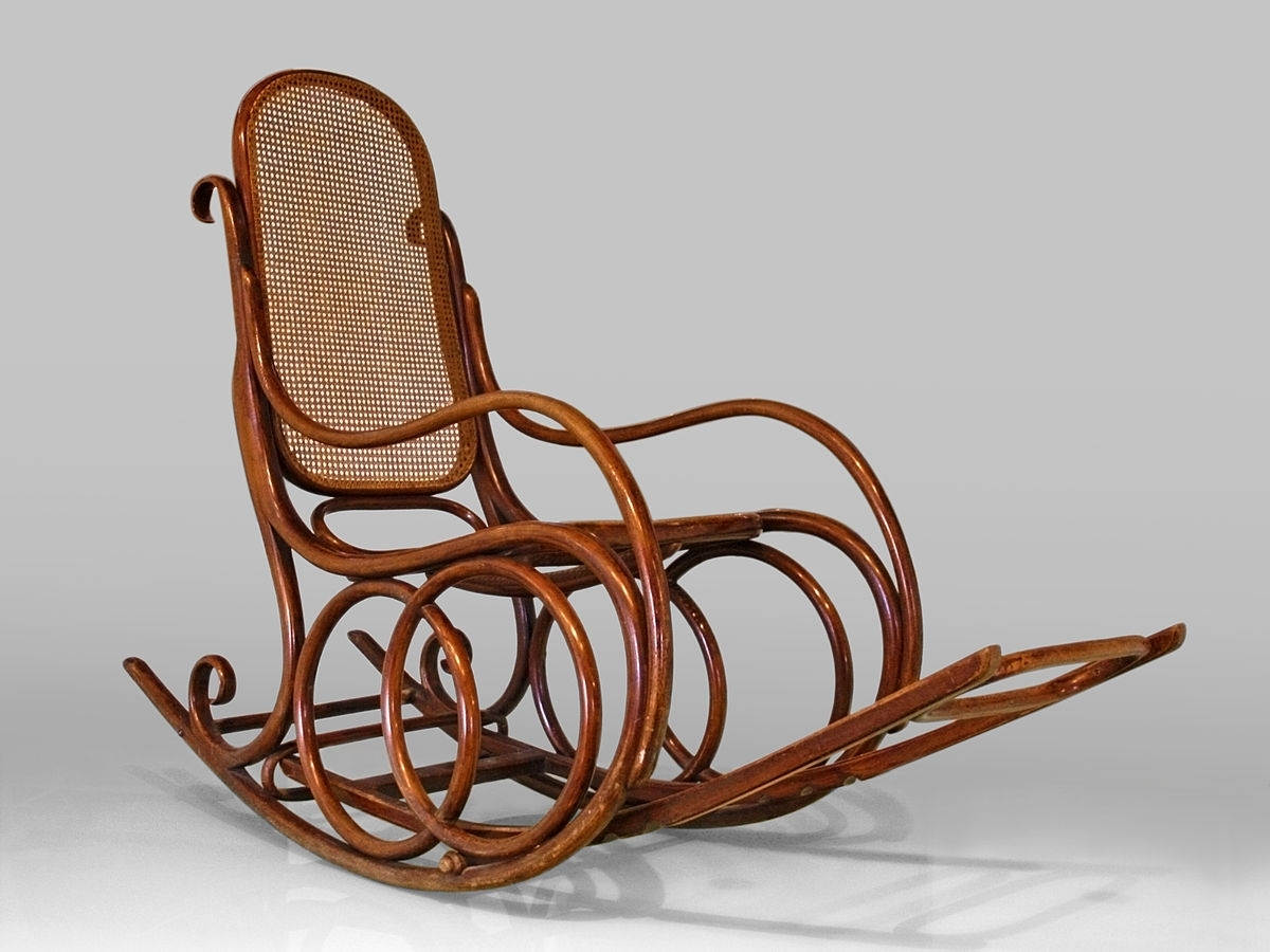 Antique Wicker Rocking Chairs With Springs Regarding Well Liked Rocking Chair – Wikipedia (View 5 of 15)