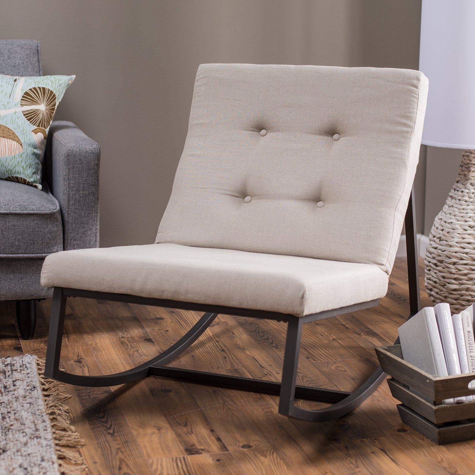 Belham Living Grayson Tufted Rocking Chair (View 4 of 15)