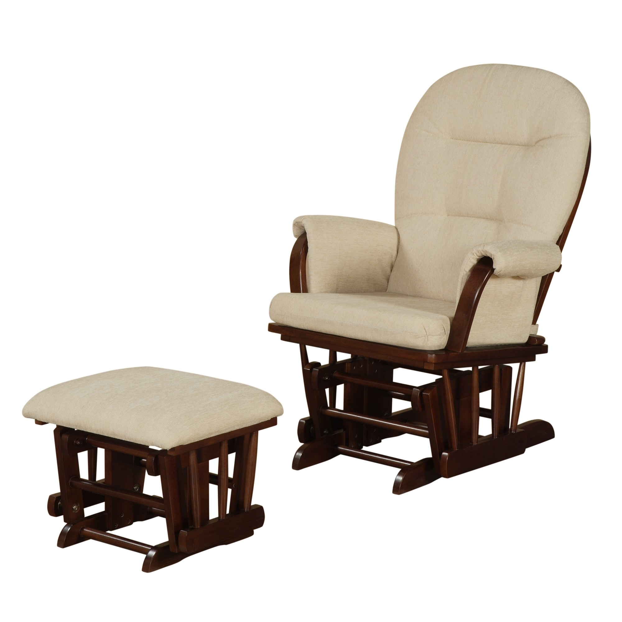 Best And Newest Rocking Chair Glider Nursery Gus Modern Sparrow Glider Throughout Rocking Chairs With Ottoman (View 4 of 15)