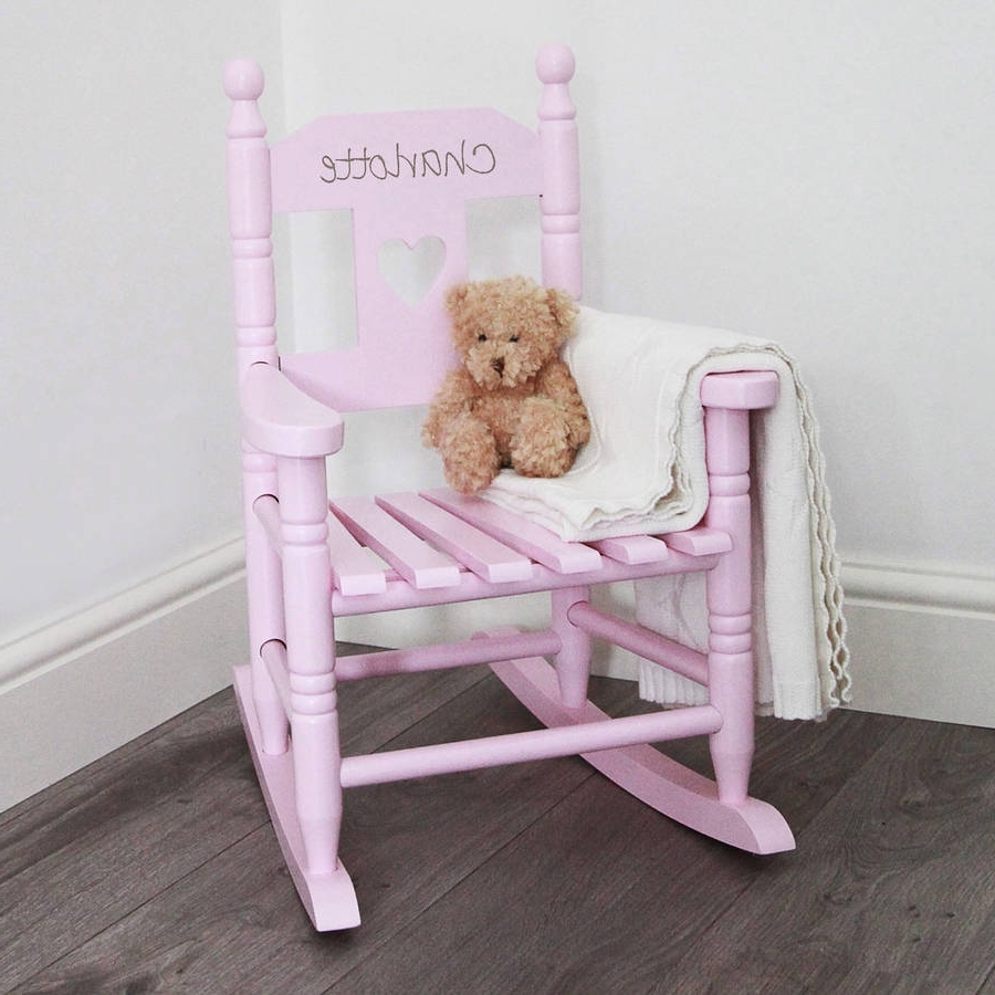 Featured Photo of Rocking Chairs For Toddlers