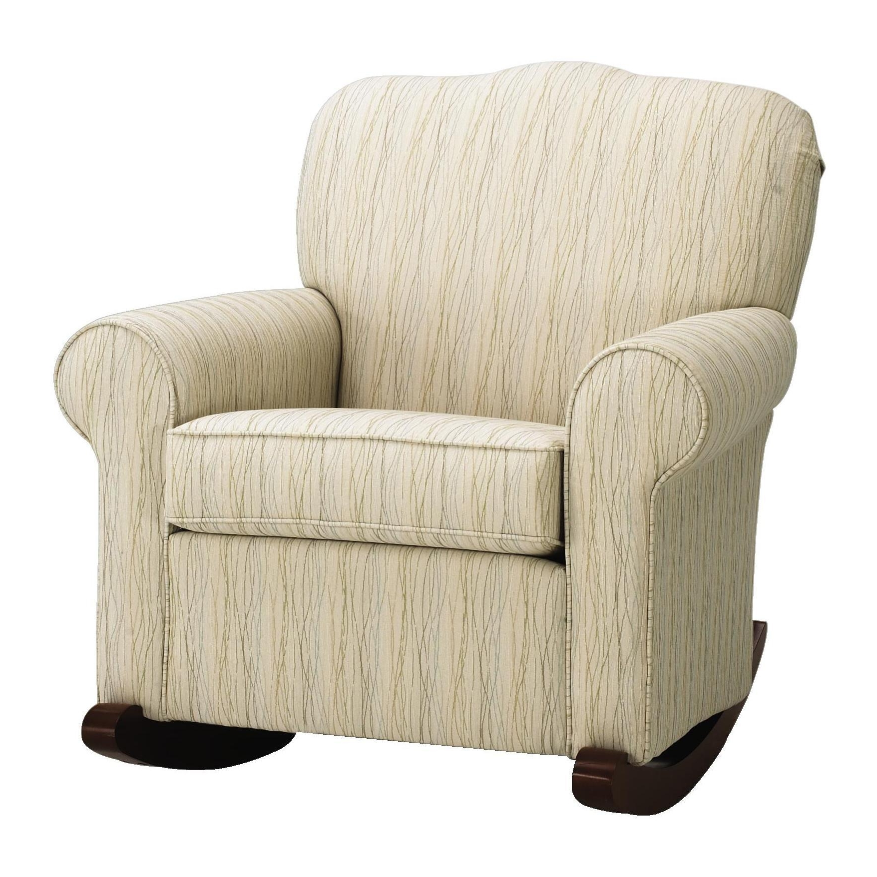 Featured Photo of Upholstered Rocking Chairs