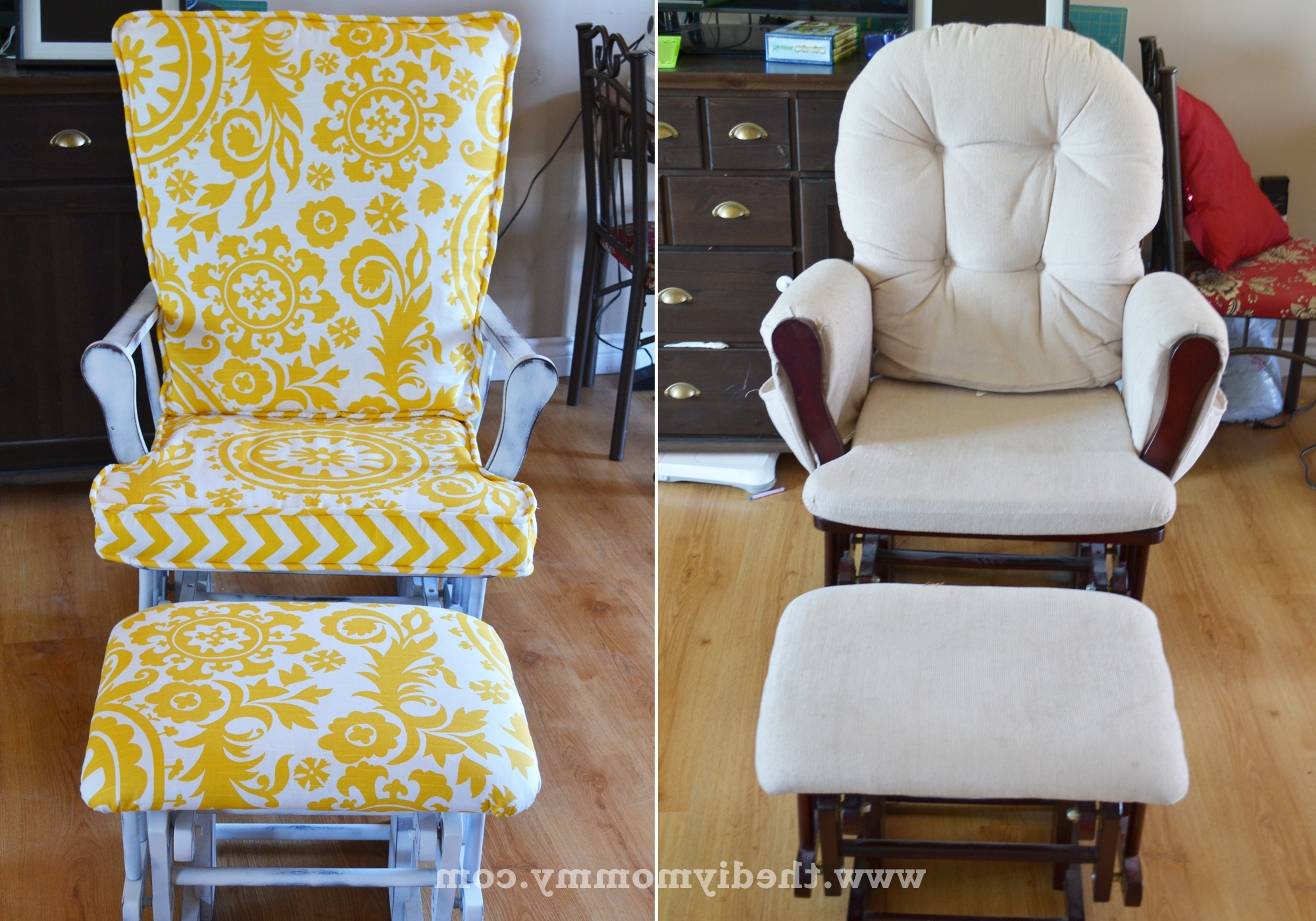 Best And Newest Update A Nursery Glider Rocking Chair (View 12 of 15)